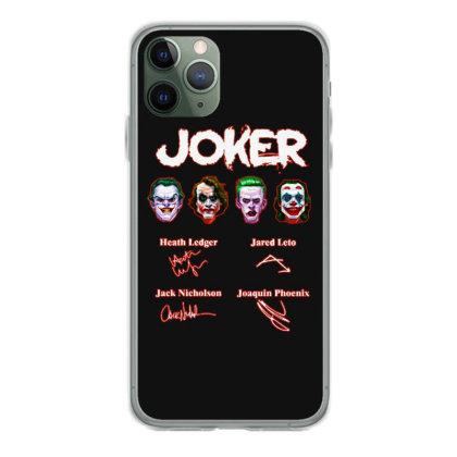 Funny Jokers Signatures Iphone 11 Pro Case Designed By Meganphoebe