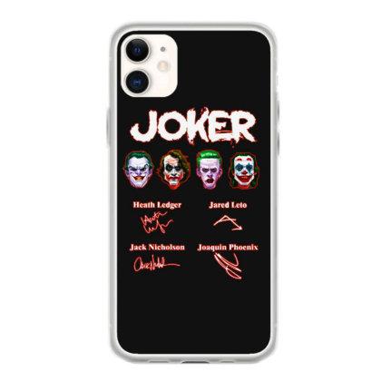 Funny Jokers Signatures Iphone 11 Case Designed By Meganphoebe