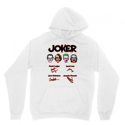 Jokers Signatures Funny Unisex Hoodie Designed By Meganphoebe