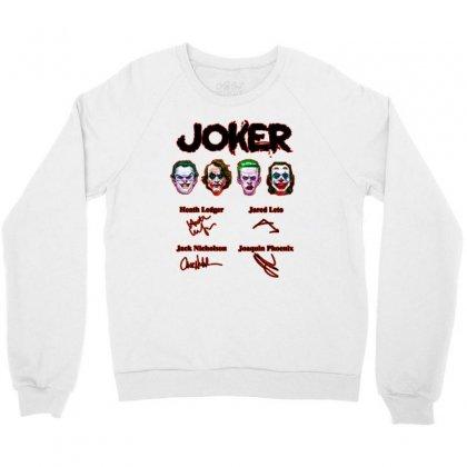 Jokers Signatures Funny Crewneck Sweatshirt Designed By Meganphoebe