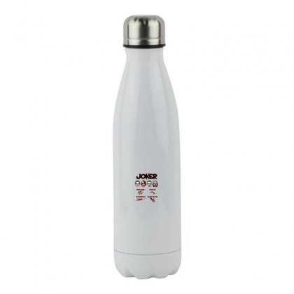 Jokers Signatures Funny Stainless Steel Water Bottle Designed By Meganphoebe