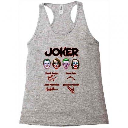 Jokers Signatures Funny Racerback Tank Designed By Meganphoebe