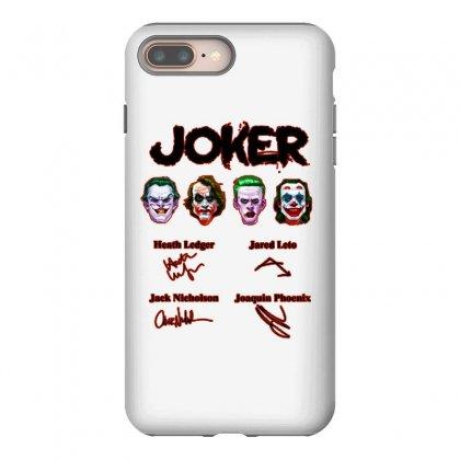 Jokers Signatures Funny Iphone 8 Plus Case Designed By Meganphoebe