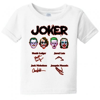 Jokers Signatures Funny Baby Tee Designed By Meganphoebe