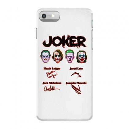 Jokers Signatures Funny Iphone 7 Case Designed By Meganphoebe