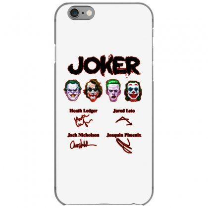 Jokers Signatures Funny Iphone 6/6s Case Designed By Meganphoebe