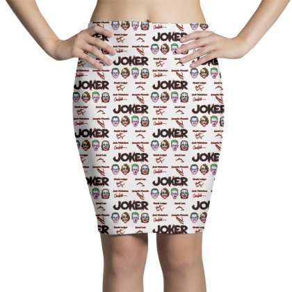 Jokers Signatures Funny Pencil Skirts Designed By Meganphoebe
