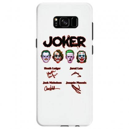 Jokers Signatures Funny Samsung Galaxy S8 Case Designed By Meganphoebe