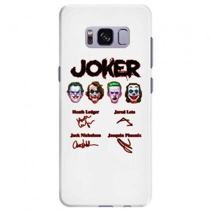 Jokers Signatures Funny Samsung Galaxy S8 Plus Case Designed By Meganphoebe