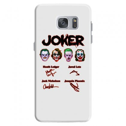 Jokers Signatures Funny Samsung Galaxy S7 Case Designed By Meganphoebe