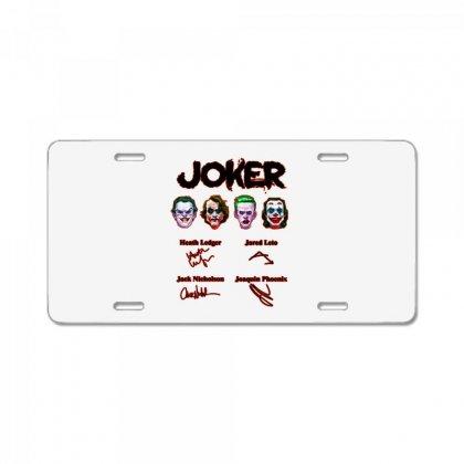 Jokers Signatures Funny License Plate Designed By Meganphoebe