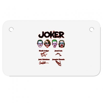 Jokers Signatures Funny Motorcycle License Plate Designed By Meganphoebe