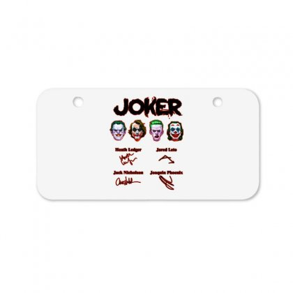 Jokers Signatures Funny Bicycle License Plate Designed By Meganphoebe