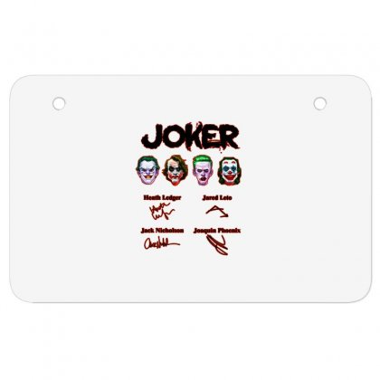 Jokers Signatures Funny Atv License Plate Designed By Meganphoebe
