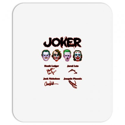 Jokers Signatures Funny Mousepad Designed By Meganphoebe