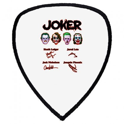 Jokers Signatures Funny Shield S Patch Designed By Meganphoebe