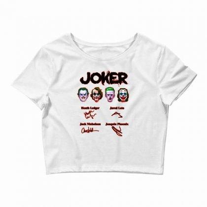 Jokers Signatures Funny Crop Top Designed By Meganphoebe