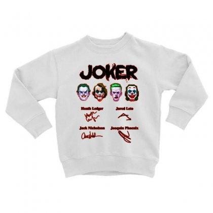 Jokers Signatures Funny Toddler Sweatshirt Designed By Meganphoebe