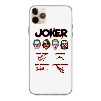 Jokers Signatures Funny Iphone 11 Pro Max Case Designed By Meganphoebe