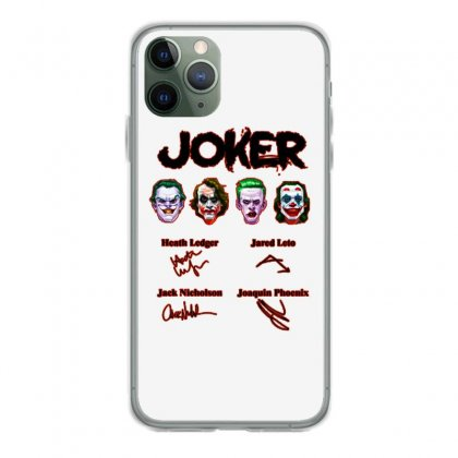 Jokers Signatures Funny Iphone 11 Pro Case Designed By Meganphoebe