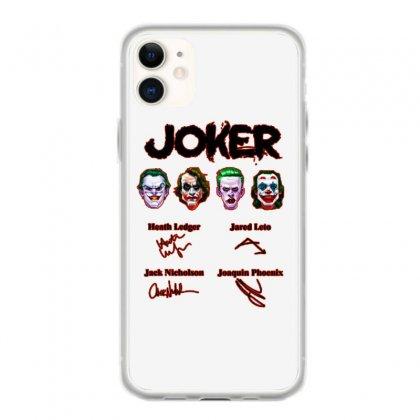 Jokers Signatures Funny Iphone 11 Case Designed By Meganphoebe
