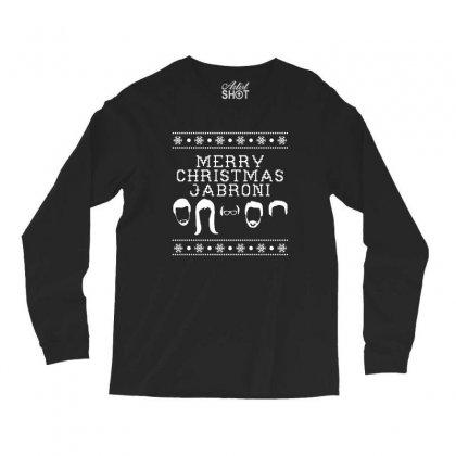 Merry Christmas Jabroni Ugly Long Sleeve Shirts Designed By Meganphoebe
