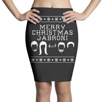 Merry Christmas Jabroni Ugly Pencil Skirts Designed By Meganphoebe