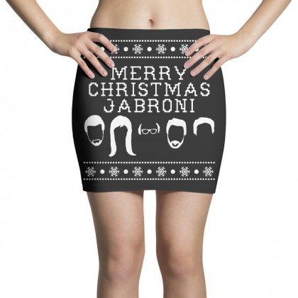 Merry Christmas Jabroni Ugly Mini Skirts Designed By Meganphoebe