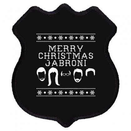 Merry Christmas Jabroni Ugly Shield Patch Designed By Meganphoebe