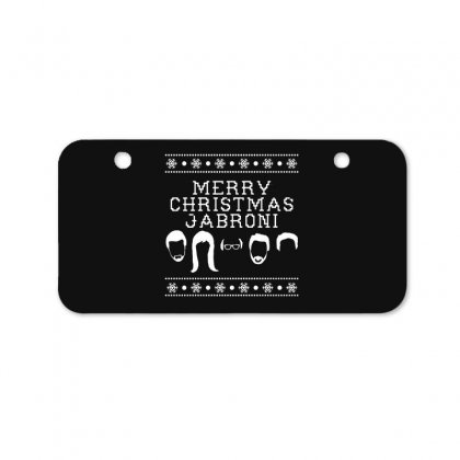 Merry Christmas Jabroni Ugly Bicycle License Plate Designed By Meganphoebe