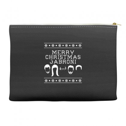 Merry Christmas Jabroni Ugly Accessory Pouches Designed By Meganphoebe