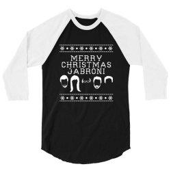 merry christmas jabroni ugly 3/4 Sleeve Shirt | Artistshot