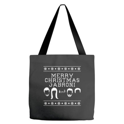 Merry Christmas Jabroni Ugly Tote Bags Designed By Meganphoebe