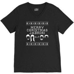 merry christmas jabroni ugly V-Neck Tee | Artistshot