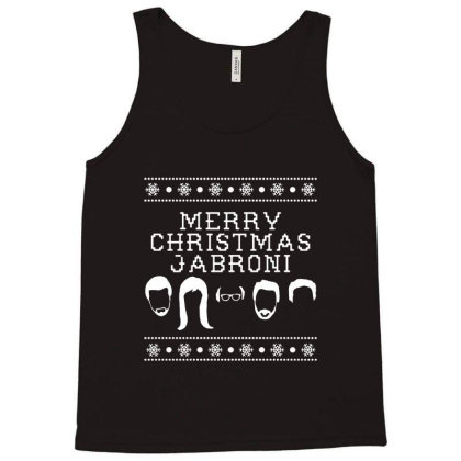 Merry Christmas Jabroni Ugly Tank Top Designed By Meganphoebe