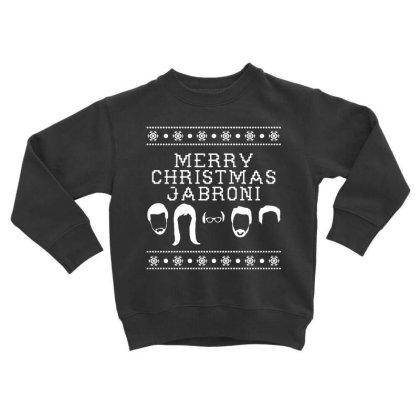Merry Christmas Jabroni Ugly Toddler Sweatshirt Designed By Meganphoebe