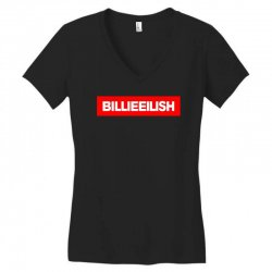 billie eilish merch Women's V-Neck T-Shirt | Artistshot