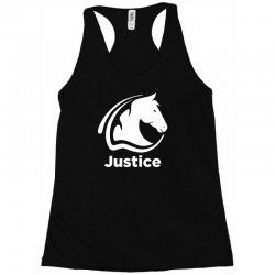 justice animal Racerback Tank | Artistshot