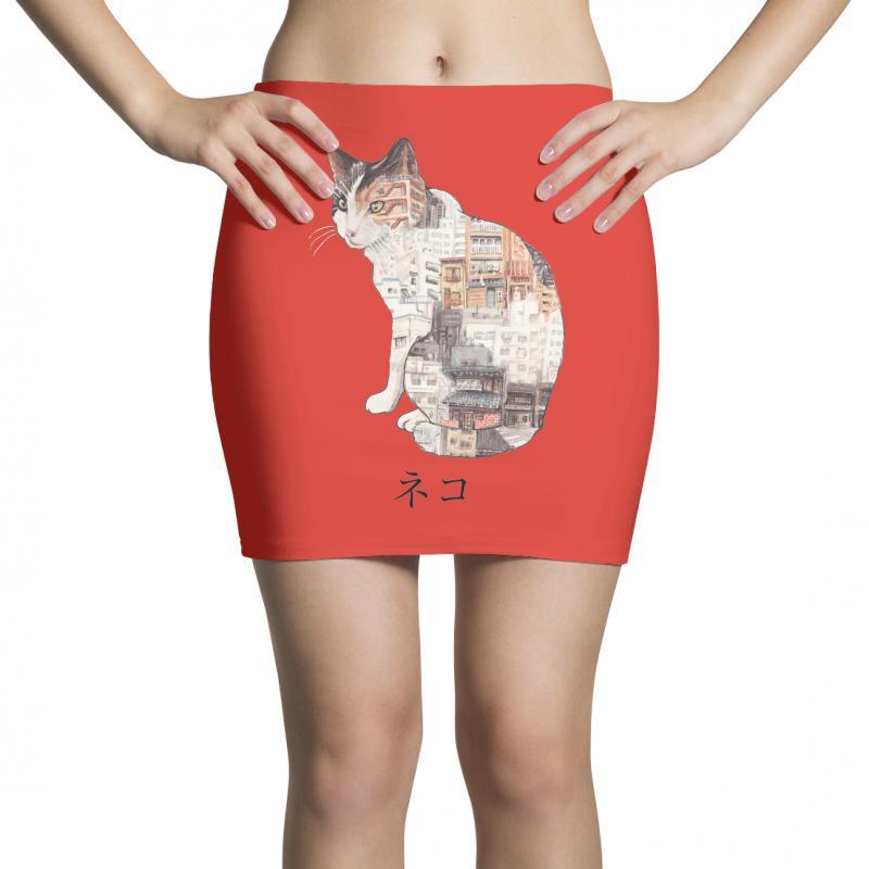 Street Cats Mini Skirts | Artistshot
