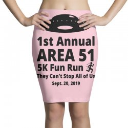 1st annual area si 5k fun Pencil Skirts | Artistshot