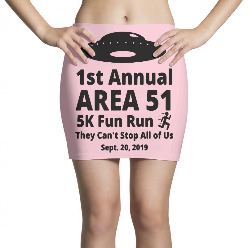 1st Annual Area Si 5k Fun Mini Skirts | Artistshot
