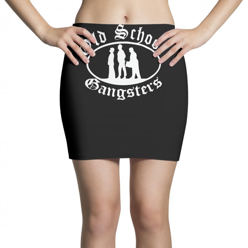 Old School Gangsters Mini Skirts   Artistshot