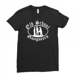 old school gangsters Ladies Fitted T-Shirt   Artistshot