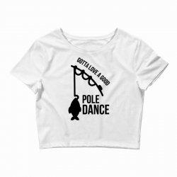 pole dance Crop Top   Artistshot