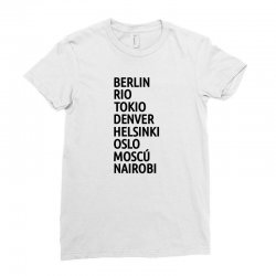 la casa de papel Ladies Fitted T-Shirt   Artistshot