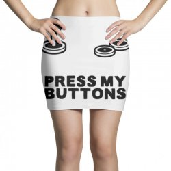 press my buttons Mini Skirts   Artistshot