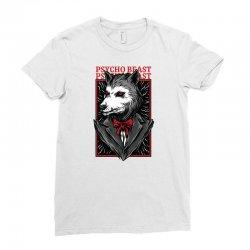 psycho beast Ladies Fitted T-Shirt | Artistshot