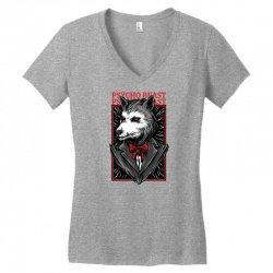 psycho beast Women's V-Neck T-Shirt | Artistshot
