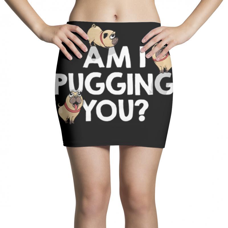Pugging You Mini Skirts | Artistshot