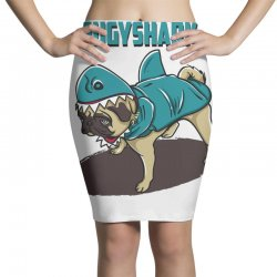 pugyshark Pencil Skirts | Artistshot